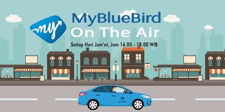 MY BLUE BIRD ON THE AIR